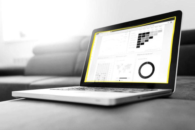 écran laptop analyse stat