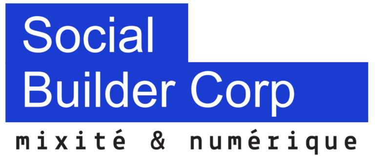 Logo social builder corp